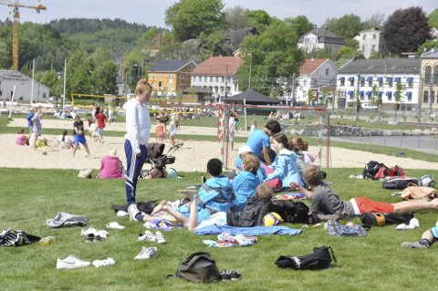 Vil ha masse liv: Løft Larvik håper mange ungdommer finner veien til indre havn lørdag. Arkivfoto: Bjørn-Tore Sandbrekkene
