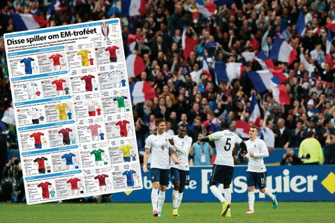 24 lag er med i årets fotball EM og i den anledning gir vi deg 24 sider med EM-stoff!