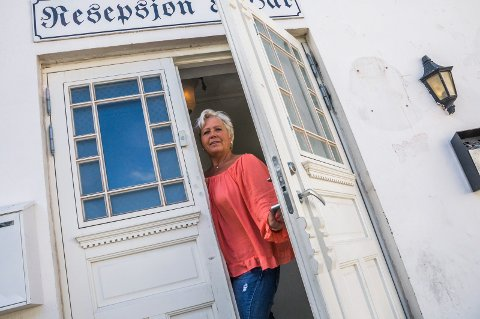 Legges ned: – Vår siste dag blir 30. november, forteller mottaksleder Elisabet Trevland på Trudvang. Foto: Lasse Nordheim