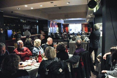 POPULÆRT: Ingunn Kristin Solberg har hatt mange populære foredrag på Il Passatore.