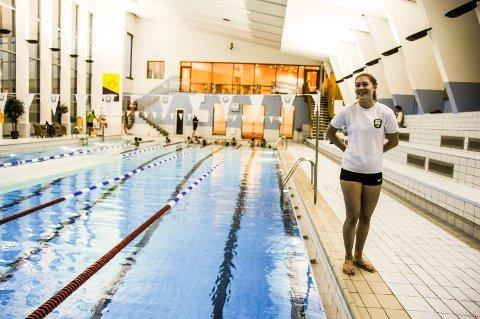 Gjør comeback: Ingrid Svan Kjær la opp etter at hun tok gull i senior-NM. Ett år etter gjør hun comeback i bassenget.