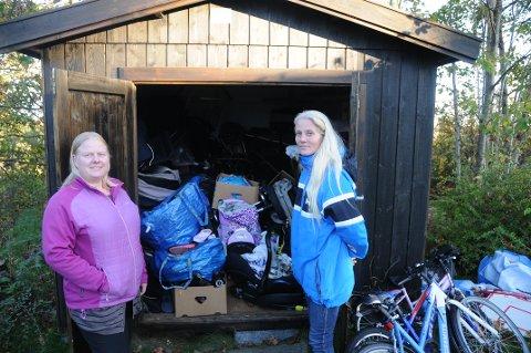 Lavterskeltilbud: Trine Lise Strand Pettersen og Unni Elisabeth Fevang Tafjord ønsker å hjelpe de som er redd for å be om det andre steder.