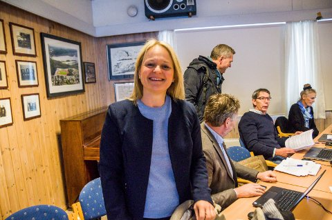 Effektiv: Fungerende rådmann Ingvild Aartun kan glede seg over at Larvik gjør det godt i SSBs undersøkelse av effektiviteten i norske kommuner.
