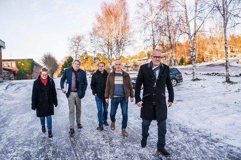 KULTUR: Turid Løsnæs (A), Hallstein Bast (V), Knut Olav Omholt (SP), Olav Nordheim(SP) og Rune Høiseth (A) har sammen med MDG og SV lagt fram endringsporslag til rådmannes budsjefforslag.