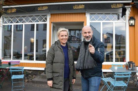 Vibeke Ravndal og Geir-Atle Johnsen ønsker seg masse statister til Wisting-serien.