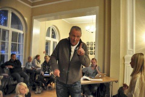 """Helge Hammelow-Berg blir i Tønsberg i sommer. Dermed må TV 2 finne seg en annen deltaker til """"Kjendis-Farmen."""