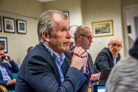 Prosjektleder: Jan Arvid Kristengård, her under formannskapsmøtet på rådhuset onsdag, er på plass som prosjektleder 1. mars.