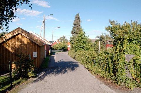 Nordgata i Helgeroa