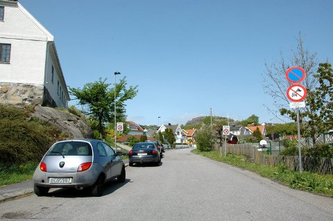 Sogneprest Herlofsens gate i Stavern