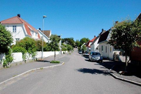 Sveins gate, Larvik