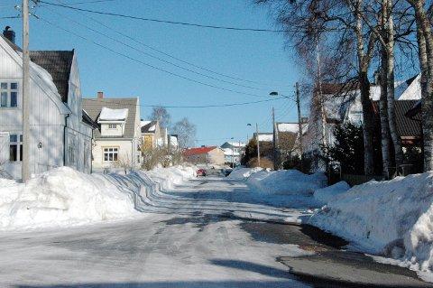 Welhavens vei på Nanset