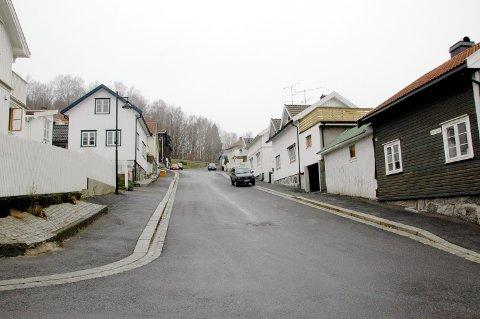 Øvregata på Langestrand