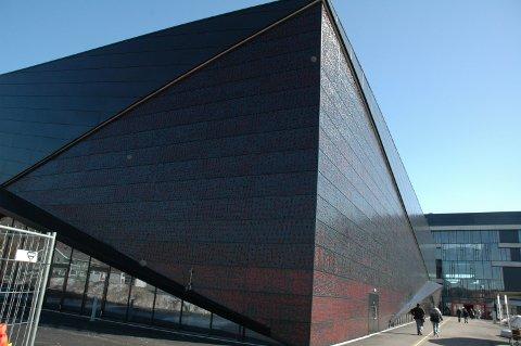 Larvik Arena sto ferdig til bruk i september 2009