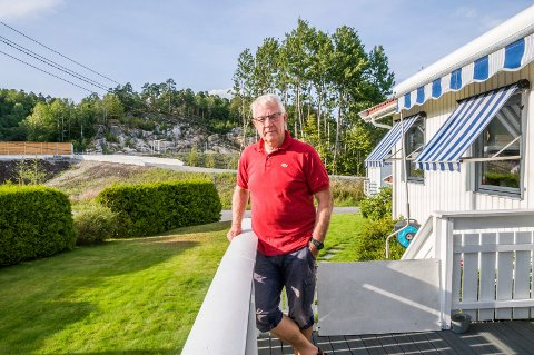 – IKKE NOE LUKTPROBLEM: Det mener Arne Skovro, som har bodd i Nordlia siden 1980.