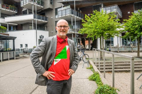 KREVER FLERE LÆRERE: Lars Egeland er SVs førstekandidat i Vestfold foran valget i høst.