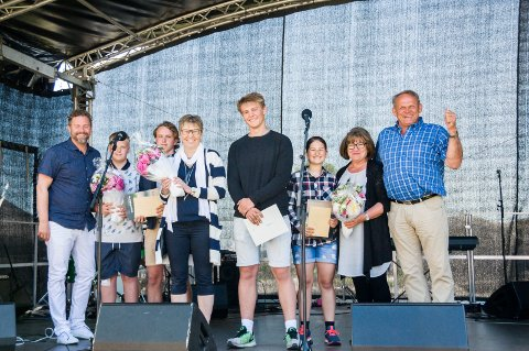 Vant i fjor: Kvelde skole fikk fjorårets skolepris på Tollerodden.