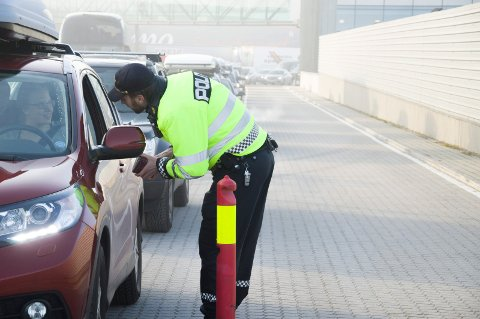 Beslag: I bilen til dansken fant tollerne cannabisolje. Bildet er kun en illustrasjon, og ikke hentet fra den aktuelle hendelsen.