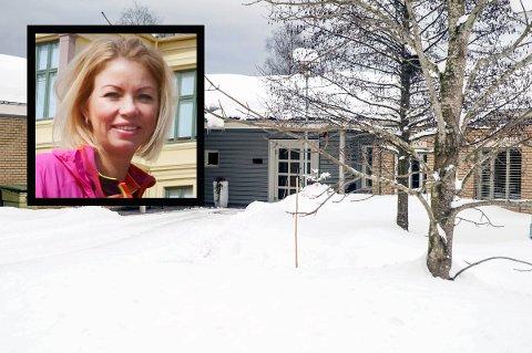 Avdelingsleder i Larvik kommune, Kristine Borvik, har hatt kontrollen over situasjonen i Lardal natt til onsdag.