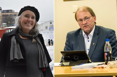 FEIDE: Hilde Bøkestad kunne nok ha ønsket seg en litt enklere start på jobben i Larvik kommune. Nå har hun hisset på seg Per Manvik, som føler seg kneblet av den nye kommunalsjefen.