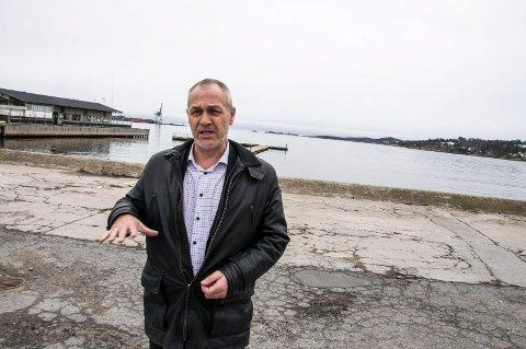 TIL LARVIK: Ordfører i Larvik, Rune Høiseth, kan fortelle at et enstemmig kommunestyre ønsker å lokalisere den nye Vestfold tingrett i Larvik.