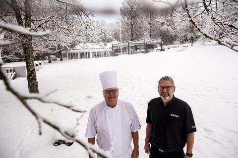 Helårs: Kai og Tommy Sundal åpner Bøkekroa rekordtidlig. Igjen! Nå fra 8. januar.