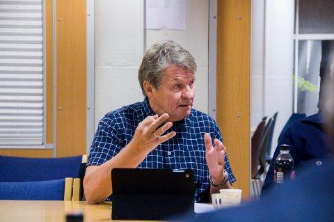 FIKK FLERTALL: Gunnar Eliassen (SV) fikk flertall for forslaget om å stryke privat-offentlig samarbeid fra kommunens eiendomsstrategi.