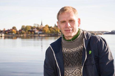 UTE: Vinjar Rosendal har meldt seg ut av MDG dagen før årets siste kommunestyremøte.