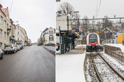 SPLITTET: Befolkningen i Larvik er splittet når det gjelder stasjonsplassering.
