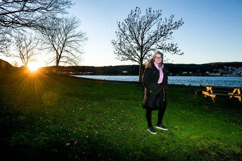 COLIN ARCHER SKØYTE: Her, rett inennfor Sverdrupmoloen og nedenfor Tolleroddenhuset, kan Hilde Borgir og de andre entusiastene snart ønske velkommen til Colin Archer skuta RS 14. Et 15 meter langt telt vil bli bygd for å huse den i tre år.
