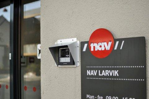 NEDGANG: Larvik har lavest arbeidsledighet av alle kommunene i fylket og blir stadig bedre.