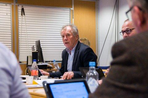 VIL IKKE DISKUTERE I MEDIA: – Alt som handler om min rolleutøvelse som rådmann mener jeg hører hjemme i en samtale mellom politisk ledelse og administrasjonen – ikke i avisa, sier Jan Arvid Kristengård.