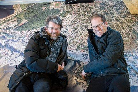 KJØPT: Citiplan med Gunnar Ridderstrøm og Tor Atle Odberg er kjøpt opp av Norconsult.