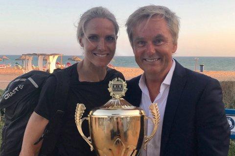 VANT: Gro Hammerseng-Edin ble den første kvinnelige vinneren av Mesternes Mester i 2018, men forteller i dag at hun måtte bruke Voltaren for å klare å gjennomføre.  Akkurat som hun måtte for å holde smertene i sjakk de siste årene av karrieren.