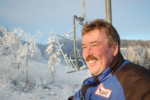 BER OM HJELP: Harald Årsbog, eier av Svarstad skisenter, har sendt søknad til Larvik kommune om bistand til finansiering av skisenteret. Nå skal kommunen avklare hvilket handlingsrom som finnes.