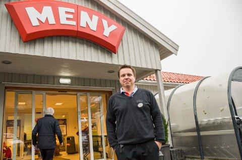 Thomas Eriksen, kjøpmann Meny Stavern, synes endringene er for det bedre.