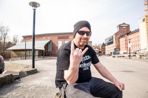 SLIPERIET: Pål Borgersen er klar for enda en Spetakkelfestival. Denne gangen både som festivalsjef og entertainer.