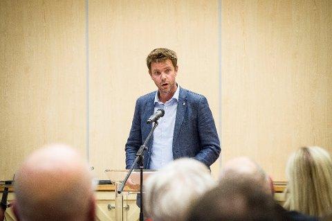 TREDJEPLASS: Truls Vasvik står på tredjeplass på nominasjonslista til Telemark Vestfold Arbeiderparti. (arkivfoto)