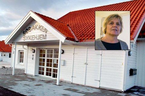 HVA BLE SAGT HER? Helse- og omsorgsledelsen (her ved kommunalsjef Guro Winsvold, innfelt) kjenner seg ikke igjen i det budskapet flere ansatte mener ble ytret under lunsjen på Søbakken sist fredag.