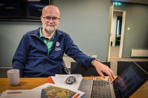 BREV TIL FYLKESMANNEN: Knut Hjalmar Gulliksen er styreleder i Larvik og Omegns Turistforening, og har sendt brev til Fylkesmannen om ny vurdering av kyststien på Bjønnes.