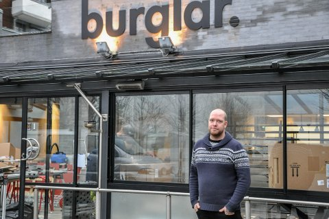 NYHET: Driver og kokk Harald Taraldlien har en nyhet på burgerrestauranten Burglar, og det er ikke en burger.