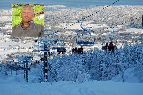 LANGER UT: Svein Unneberg har ikke mye sans for Larvik kommunes avgjørelse om å slå Alpinveien 126 konkurs.