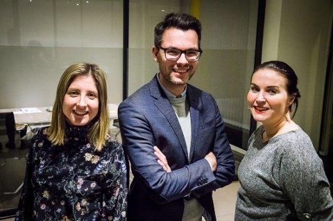 Skaun advokatfirma: Fra venstre Siri Bergem (33), Valon Krasniqi (33) og Anne Cecilie Kristensen (39) slår seg sammen i nytt firma: – Vi ønsker å vokse.
