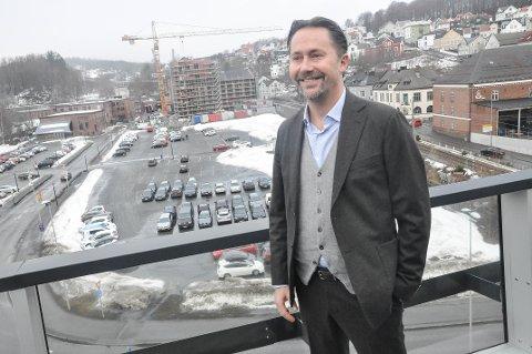 TOPPJOBB: Petter Falkgård Andersen er ny sjef for Fritzøe eiendom AS.