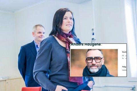 BYTTER PARTI: Anders Haugene (innfelt) går nå til valg sammen med Gry Anette Lie og Erik A. Sørensen.