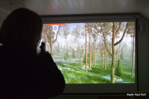 Simulatorskyting var meget populært og en veldig realistisk måte å trene på vilt! Både fugl, villsvin,elg & rådyr er blant annet noe av det  man kan skyte på!