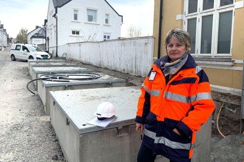 PROSJEKTLEDER: Elma Selimotic er prosjektleder for arbeidene som nå pågår i Bøkelia. Hun forsikrer at de som bor i gata skal tas med på råd der arbeidene byr på spesielle utfordringer.