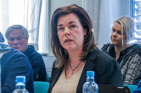 KRITISK: Planutvalgsleder Marie Offenberg (H) er kritisk til kommunens nye organisering av byggesak og tilsyn.