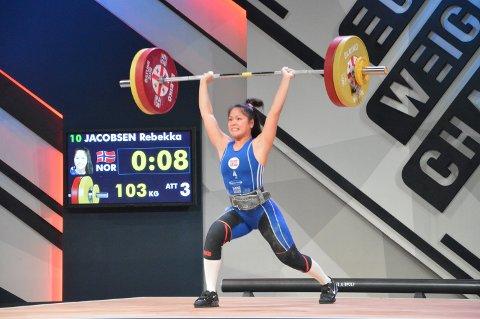 VIL TIL OL: Rebekka Tao Jacobsen søkte stipend for å nå sitt mål om å kvalifisere seg til OL 2020.