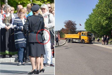 FLERE TILTAK: Både bevæpnin av politiet og sperrede gater blir en del av bildet 17. mai.