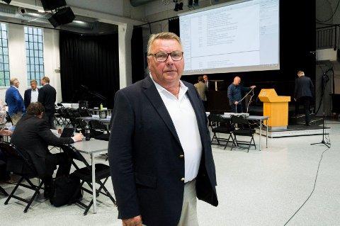 BLE IKKE HØRT: Gjert Gjertsen talte varmt for å innvilge søknaden, men flertallet sa nei.